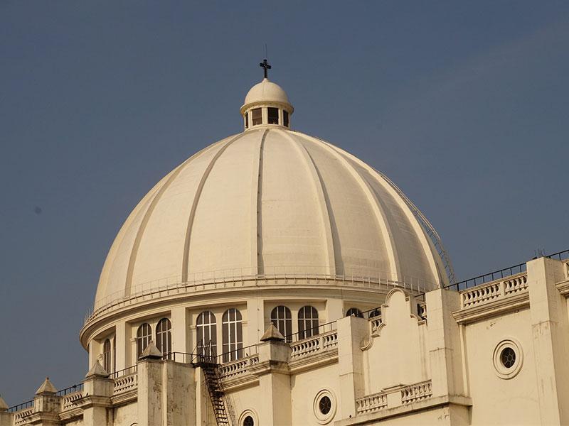 Church in El Salvador travel photo