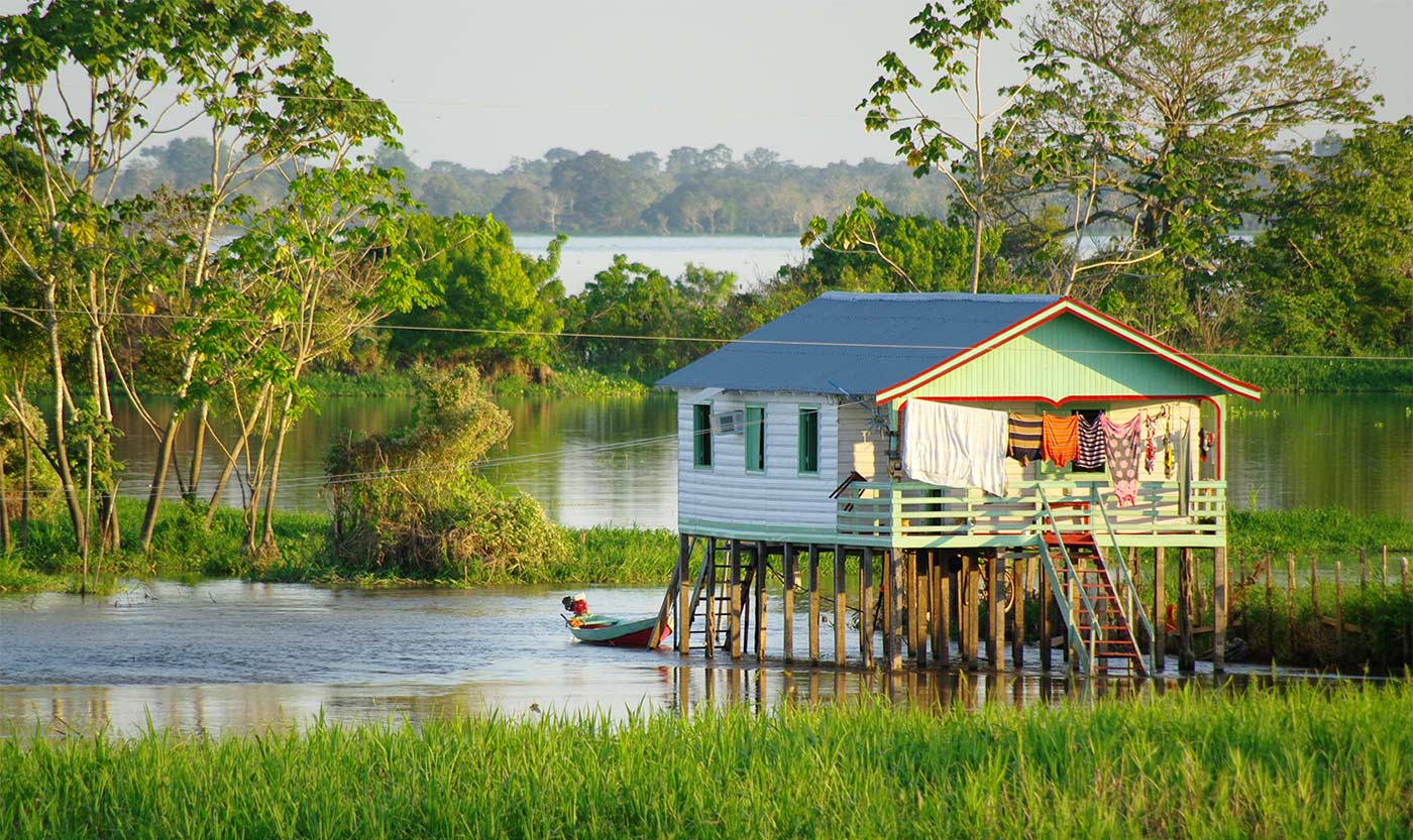 Photo of Amazon Hut Brazil