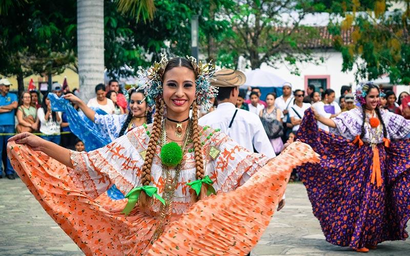 Photo of dancer in Honduras
