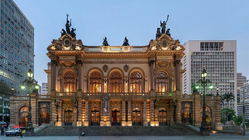 Picture of Theatre Sao Paulo Brazil