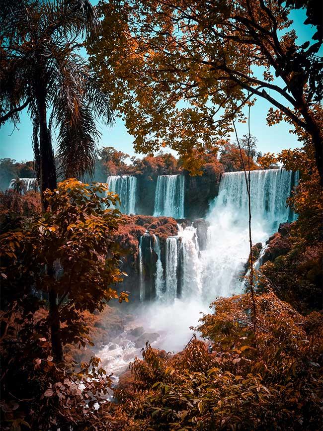 Iguazu falls Argentina travel photo
