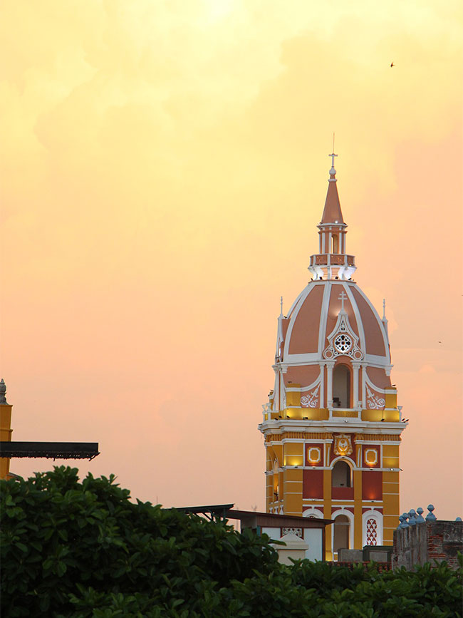 Photo of Cathedral Cartagena Colombia