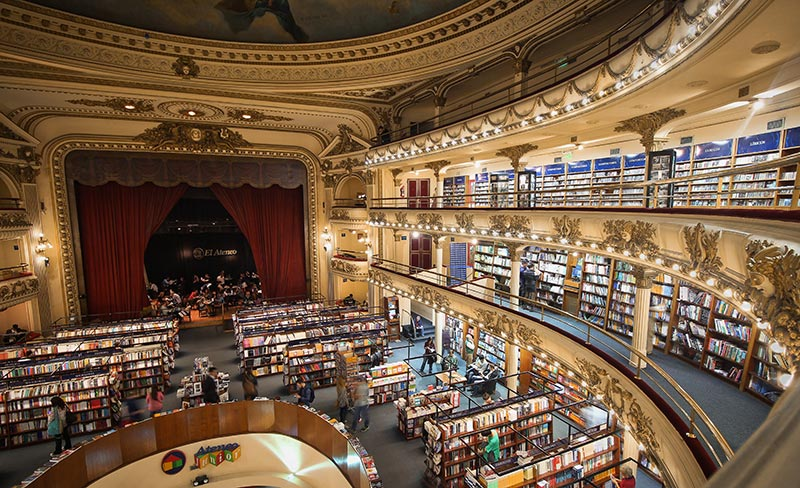 Picture of Library in Buenos Aires