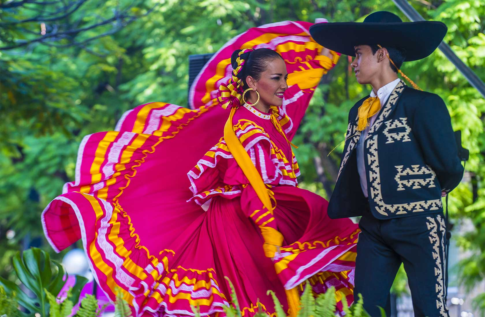 Photo of dancers Mexico
