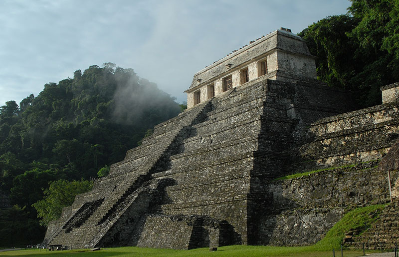 Picture of Mayan Pyramid Mexico